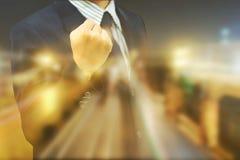Business Men win a handful of winners stock photo