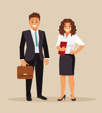 Business men and women Royalty Free Stock Image