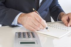 Business men working Royalty Free Stock Photo