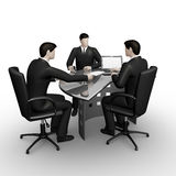 Business men working in office Royalty Free Stock Photo