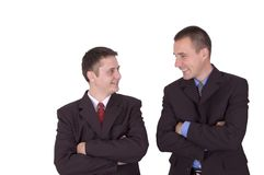 Business mens Royalty Free Stock Image