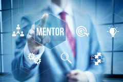 Business Mentor royalty free stock photo