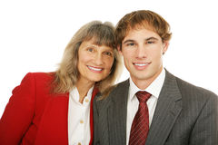 Business Mentoring Stock Photo