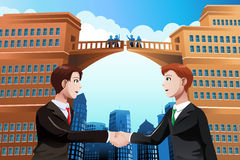 Business merger concept Royalty Free Stock Images