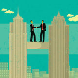 Business Merger royalty free illustration