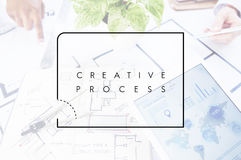 Business Messy Creative Strategy Education Occupation Concept.  Royalty Free Stock Photos
