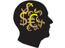 Business mind. Vector illustration of business mind royalty free illustration