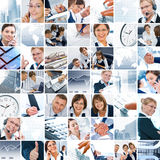 Business mix Stock Photo