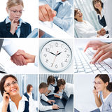 Business mix Royalty Free Stock Images