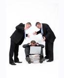 Business mobbing. royalty free stock image