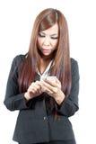 Business mobile Stock Photos