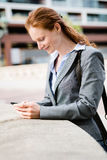 Business - Mobile Communications Royalty Free Stock Image
