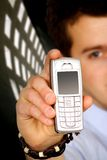 Business mobile phone Stock Images
