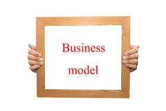 Business model Stock Image