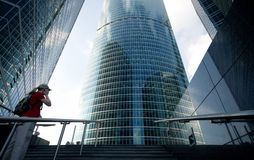 Business modern building Stock Images