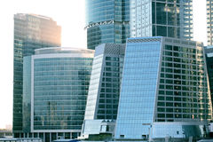 Business modern buildings from glass Royalty Free Stock Photography