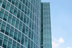 Business modern buildings from glass Royalty Free Stock Photo
