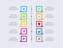 Business modern infographic. vector infographics timeline design template. step set. vector illustration. colorful vector illustration
