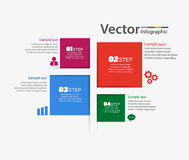 Business modern infographics elements options banner Royalty Free Stock Images