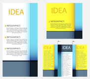 Business modern template Stock Images
