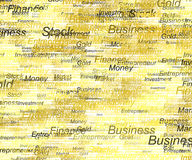 Business and Money Background. All business money and finance background Stock Photography