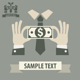 Business money concept Royalty Free Stock Images