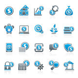 Business, Money and Finance icons Royalty Free Stock Images