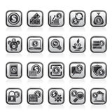 Business, Money and Finance icons Royalty Free Stock Image