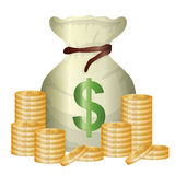 Business, money and global economy Royalty Free Stock Photos
