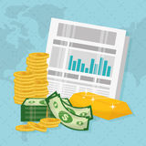 Business, money and global economy Stock Photography