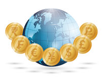 Business, money and global economy Stock Photo