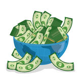 Business, money and global economy Royalty Free Stock Photo