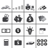 Business and money icon Royalty Free Stock Photography