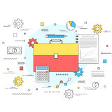 Business money management concept Royalty Free Stock Photos