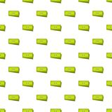 Business money pattern seamless. In flat style for any design Stock Images