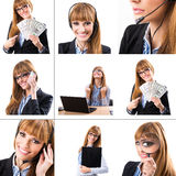 Business Montage Stock Images