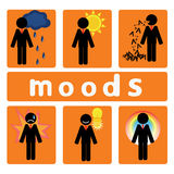 Business moods Stock Photography