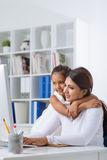 Business mother Stock Photo