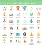 Business motivation color 36 royalty free illustration