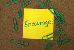Business Motivation and Encouragement concept Royalty Free Stock Photography