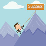 Business Mountain Success Royalty Free Stock Photography