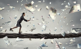 Business on the move . Mixed media Royalty Free Stock Photo