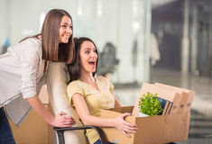Business move Stock Photography