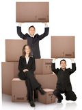 Business moving services Stock Image