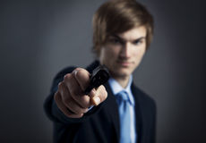 Business murder Stock Photos