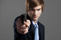 Business murder Royalty Free Stock Photo