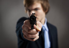 Business murder Royalty Free Stock Photos