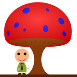 Business mushroom Stock Image