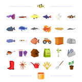 Business, nature, agriculture, and other web icon Royalty Free Stock Images