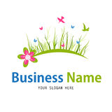 Business nature icon design Stock Photo